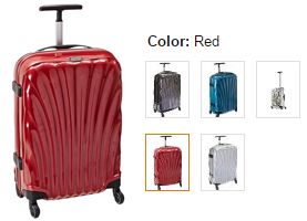 samsonite cosmolite lightweight carry on