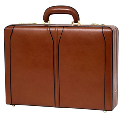 mcklein leather mens briefcase