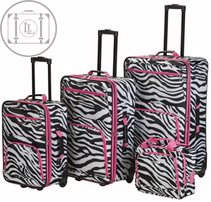 4 piece womens luggage set