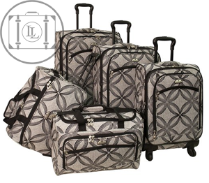 5 piece womens luggage set
