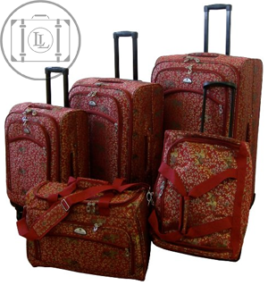 american flyer womens luggage set