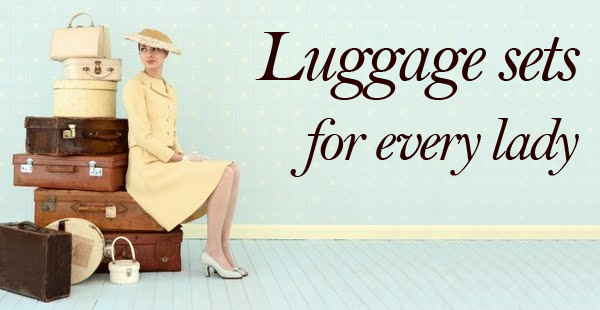 luggage sets for women