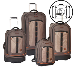 jay peak timberland luggage set