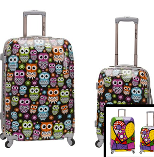 Rockland 2 Piece Upright Luggage Set