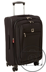 soft-sided delsey luggage
