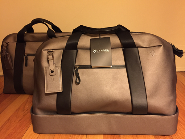 vessel boston and duffle bags