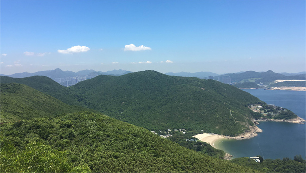 hong kong mountains