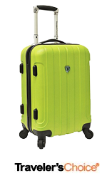 Cheap travelers choice suitcase