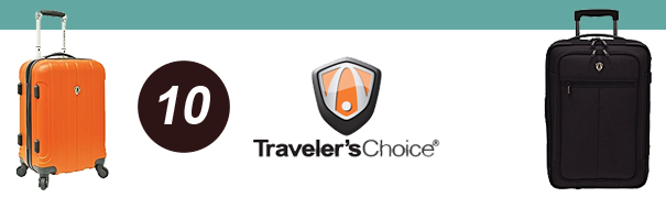 best luggage brands travelers choice
