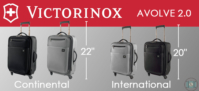 Continental vs. International Luggage Size