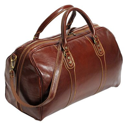 Cenzo Leather Duffle Bag
