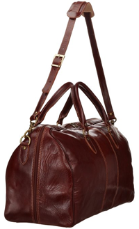 Mens Leather Duffel Bag