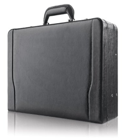 solo mens leather briefcase