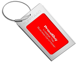 professional luggage tags