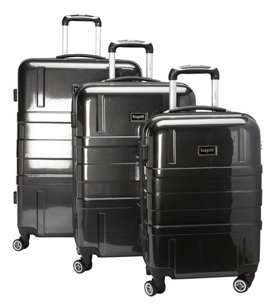 Bugatti 3 Piece Hard Luggage Set