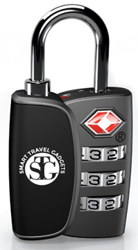 TSA Accepted 3 Digit Combination Luggage Lock