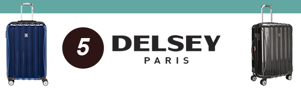 best luggage brands delsey