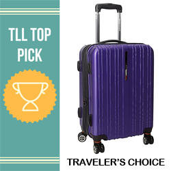best travelers choice brand luggage