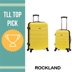 top rockland brand luggage