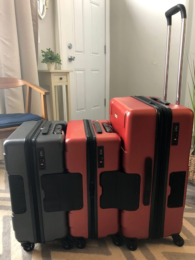 tach attachable luggage