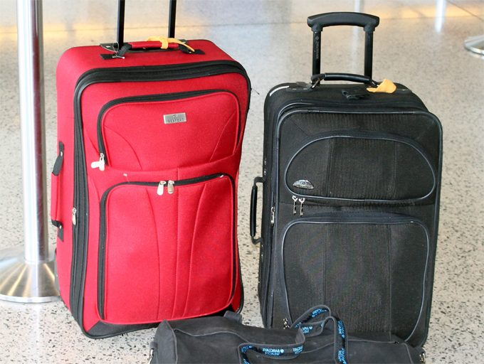 what to do with old luggage